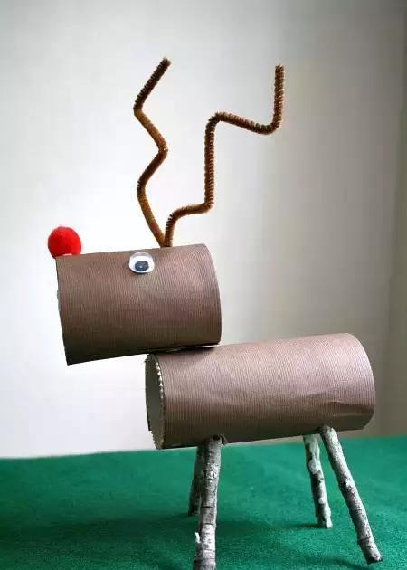 幼儿园圣诞手工制作大全,总有一款你喜欢的!
