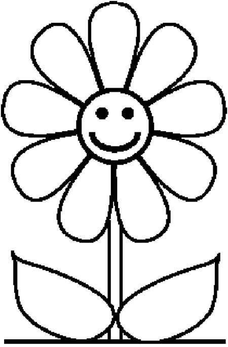 超全的花卉简笔画,超简单,你也可以教,不要再给孩子画