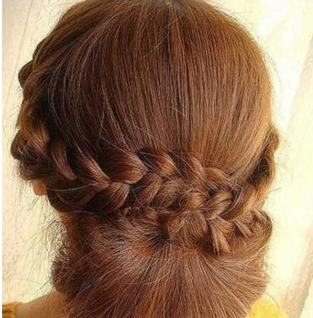 新娘发型教程图解 为你倾情打造最美丽新娘!