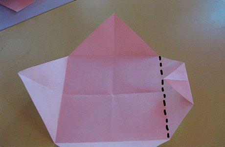 乌蓬小船手工折纸图解教程 你还记得小时候放船吗?