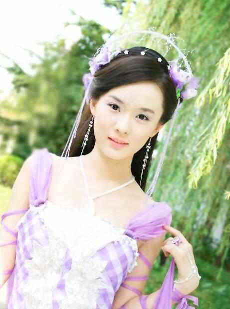 七大古装紫衣美人, 赵丽颖霸气, baby美艳, 最后一位无可超越