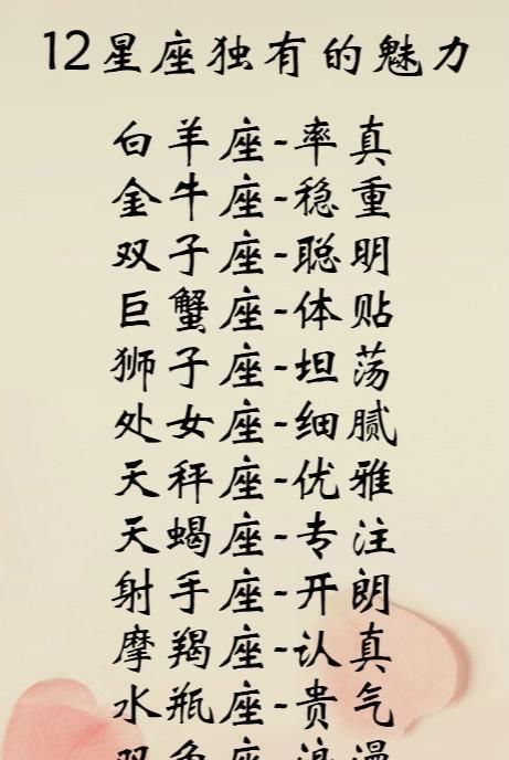 白羊座→天蝎座【12克星的星座水瓶】第二名:水瓶座第一名:巨蟹座给孙萍起个英文名爱情座图片