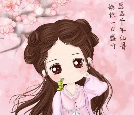 电视剧中花千骨由赵丽颖饰演,清纯的容貌,萌萌哒的小圆脸,造型可爱