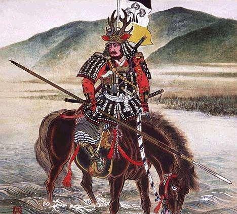 猴子骑狗打群架的日本战国时代,第一名将居然