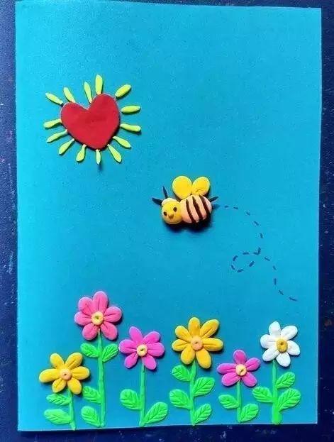 幼儿园3月8日妇女节亲子活动方案 手工贺卡