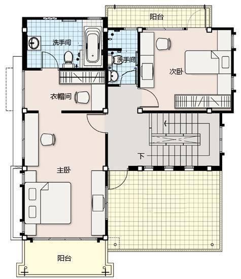 9x11米自建房设计图