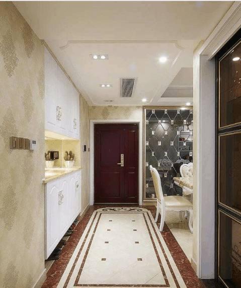 28万欧式新房装修太棒,电视背景墙搞隐形门,里面藏着