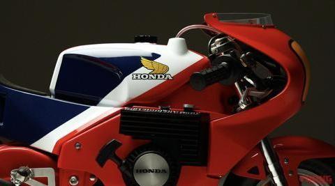 本田模刻名车系列-经典赛车NR500!
