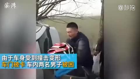 军人徒手撕天窗救人:救人第一位 虽然没赶上火车