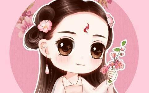 女星的漫画卡通画,杨幂国际范,赵丽颖时尚呆萌,看到迪丽热.