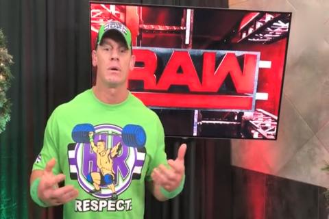 WWE正能量偶像约翰塞纳飙中文鼓励大家要做自己 爱自己所做的事