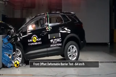 欧宝 Opel V<em>aux</em>hall Grandland X Euro NCAP 碰撞测试