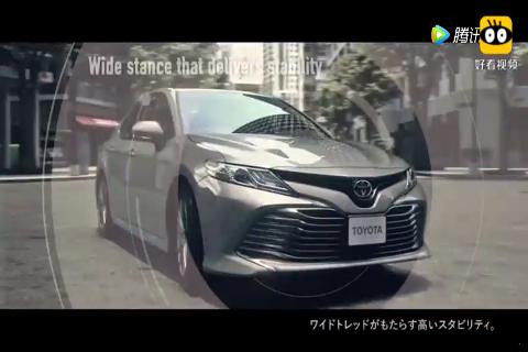 丰田官方发布新款凯美瑞宣传片,颜值满分,性能超过迈腾