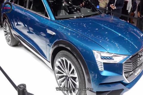 最美奥迪SUV:百万级大灯+纯电动四驱,卖这价买啥特斯拉?