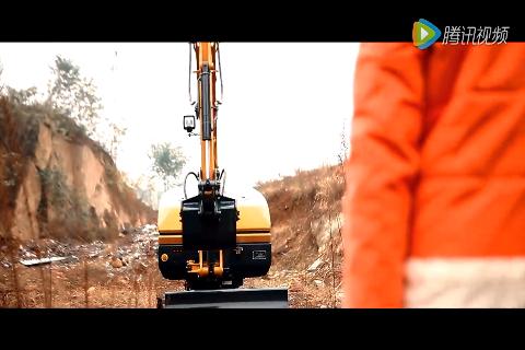 国产徐工研发纯电动小天鹅挖掘机,以后油钱能省不少咯!
