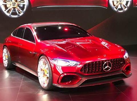2018北美车展奔驰将推全新AMG GT四门版,速度会比两门版慢吗?