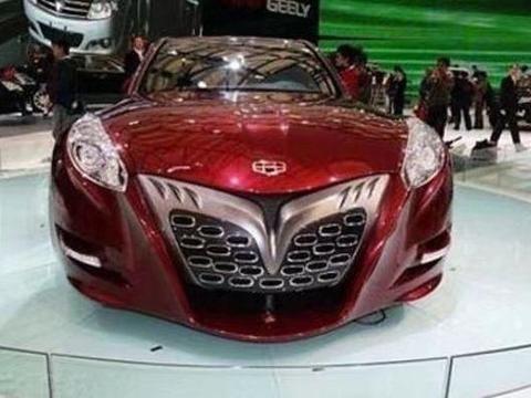 吉利的帝豪GT将成为车展上的一大设计亮点,大嘴样式的前脸