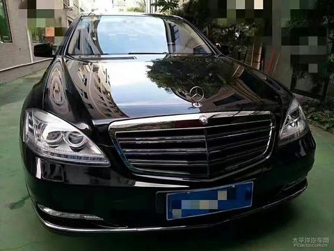 黄江二手车12款奔驰S550,黑色黑笼,四驱全景天窗,<em>无匙启动</em>