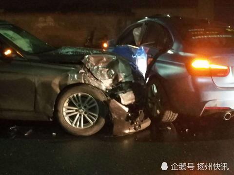 奇葩!扬州两宝马相撞,肇事司机棒打他人后逃离