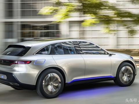 奔驰首款电动SUV EQC谍照曝光,预计将在明年国产