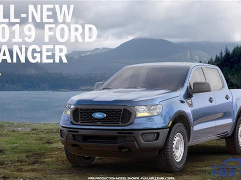 抢先看,2019款福特Ranger先发九款