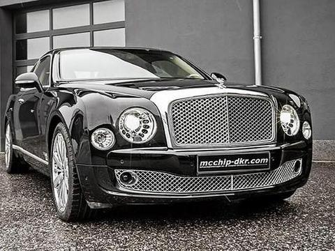 Bentley推出旗舰轿跑McChipDKR打造《Mu<em>lsa</em>nne Coupe》亮相