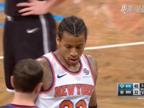 """""""艾弗森""""重回NBA! 尼克斯球员神似艾弗森备受关注!!"""