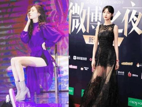 韩国第一美腿对阵杨幂工作室艺人李溪芮,没有对比就没有伤害!