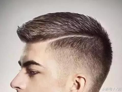 男生长脸寸头短发发型图片