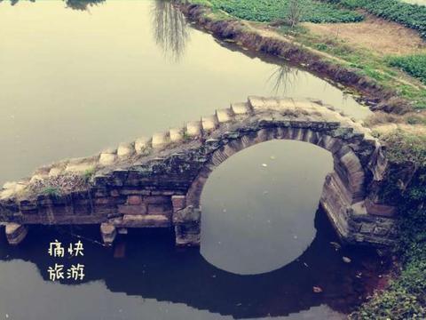 探访自贡历史建筑之杨柳溪石拱桥