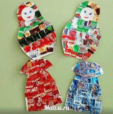 过年糖纸不要扔, 收集起来做手工吧!