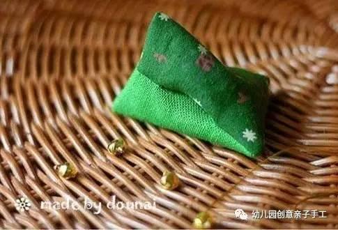 幼儿园亲子手工之端午节:万水千山粽是情,包个粽子行