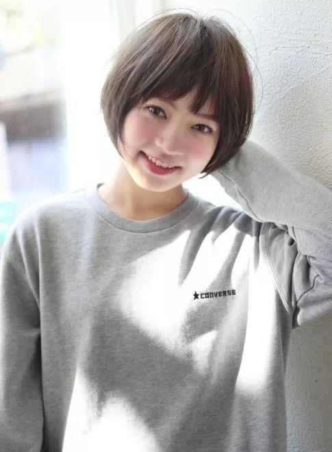 2018年春季日本流行的18款短发!这样的发型真是美出了图片