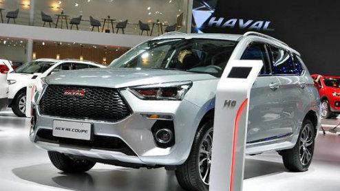 外观变化是重点 实拍全新哈弗H6 Coupe