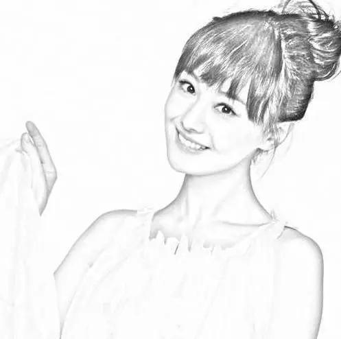 杨颖手绘画 壁纸