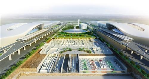 南宁国际空港综合交通枢纽项目启动 2021年将建成