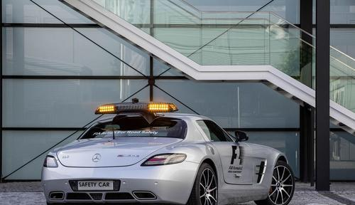 F1方程式中的安全使者 梅赛德斯奔驰SLS AMG GT 速来瞻仰