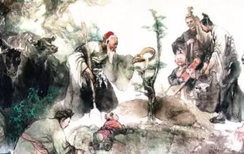 杏林 三国时期,吴国有位医术精湛的医生叫董奉,据说有起死回生的医技图片