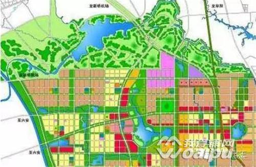 2017合肥规划 力争国家级滨湖新区获批 空港新城崛起中