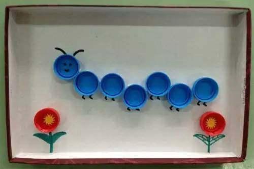 幼儿园瓶盖创意手工制作大全 太美了!赶紧收藏吧!