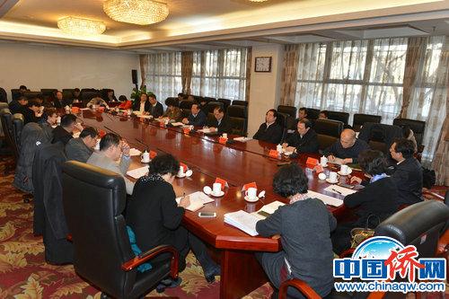 """中央""""五侨""""领导联席会议在北京召开 万钢出席"""
