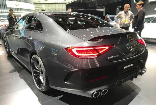 奔驰新CLS53亮相北美车展,4.5秒破百,今年就要上市