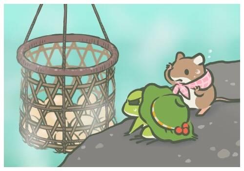 旅行青蛙下,谁是你心中最亮的星?|小动物|青蛙|小