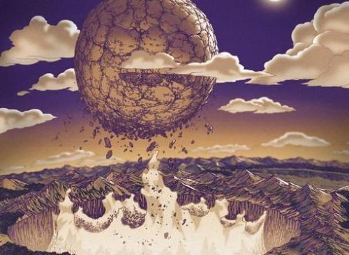 六道仙人封印_在动漫中,忍者世界月亮的诞生,就来自六道仙人所使用的地爆天星封印