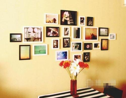 个性十足小创意 装修照片墙设计方案赏析