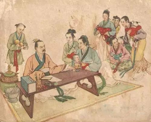 古代嫔妃服装手绘图