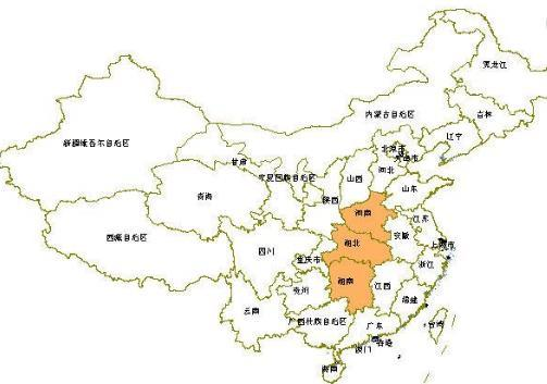 华中地区包括三个省,而以华中命名的211大学只在这个省