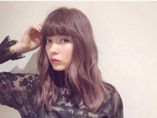 2018年中长发发型图片 慵懒中长发最有女人味
