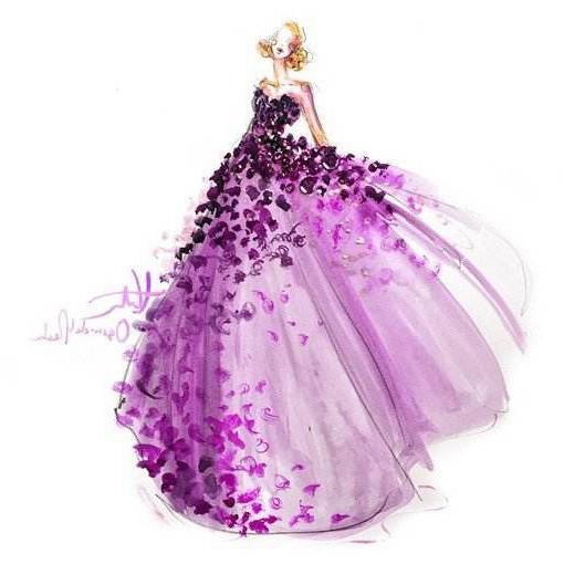 12星座公主专属的手绘婚纱,白羊座高贵,金牛座优雅,你