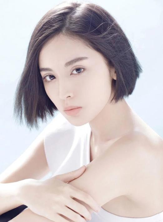阚清子短发火了,娱乐圈这些女星短发同样美,你想剪短发吗?图片
